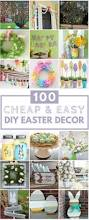 Easter Decorations Cheap by 100 Cheap U0026 Easy Easter Diy Decorations Prudent Penny Pincher