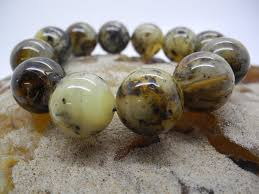 amber bead bracelet images Natural baltic amber round green beads bracelet bra11 jpg