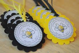 bumble bee baby shower theme 12 baby shower favor tags bumble bee baby shower to