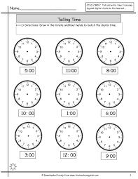 time worksheet worksheets