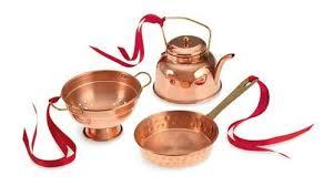 williams sonoma cook s tools copper ornaments