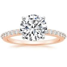 gold diamond engagement rings shop gold engagement rings brilliant earth