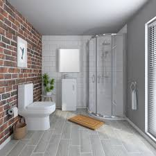 en suite bathrooms shower toilet basin victorian plumbing uk harmony shower enclosure suite medium image