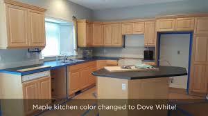 white dove kitchen color change 1080 youtube
