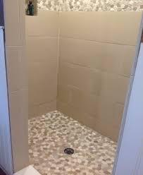 Stone Tile Bathroom Ideas by Pebble Tile Bathrooms And Showers Pebble Tile Shop Pebble