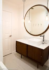 large round bathroom mirrors com also amazing mid century modern