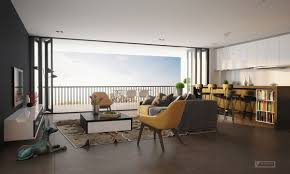 find the suitable open plan apartment designs with fashionable