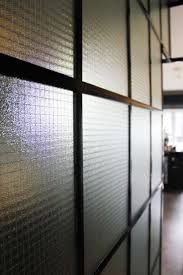 Glass Partition Design