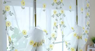 curtains 34697 4 tif sunflower kitchen curtains imposing