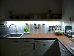 Kitchen Cabinet Lighting Ideas Installing Led Kitchen Cabinet Lighting Light O Ideas Design