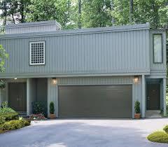 Garage Styles by Backyards New Garage Door Installation Twin Cities Aspen Doors