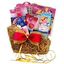 disney princess sleigh gift baskets
