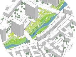 urban renewal and swimming pool precinct berlin germany