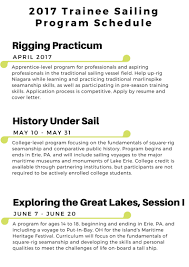 Jobs By Resume by Sail Training Program Flagship Niagara League