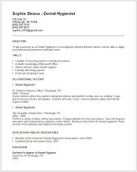Sample Dental Resume by Sample Dentist Resume Dental Hygienist Resume Example Free