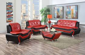 red living room furniture amazon com us pride furniture s5066 3pc 3 piece modern bonded