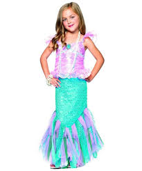 Mermaid Toddler Halloween Costume Magic Mermaid Kids Costume Princess Costumes