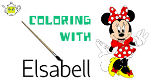 coloring minnie mickey mouse clubhouse coloring page crayons