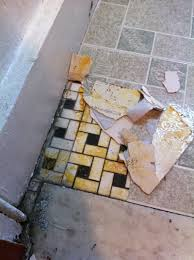 removal how to remove vinyl tiles home improvement stack