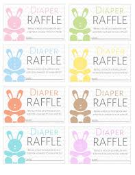 templates for raffle tickets free printable diaper raffle tickets