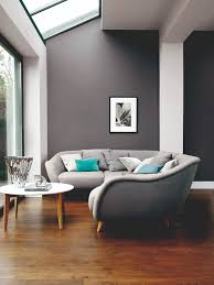 New Ways To Try Decorating With Grey From The Experts At Dulux - Teal living room decorating ideas