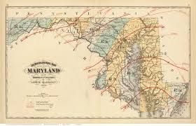 Map Of Columbia 1873 Atlas Of Maryland State Maps
