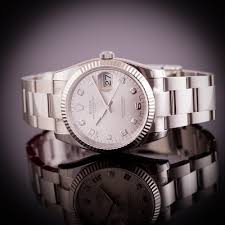 bracelet oyster rolex images Pre owned unworn rolex oyster perpetual date 34mm diamond dot jpg