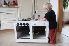 kinderküche bauen upcycling eine spielküche selberbauen