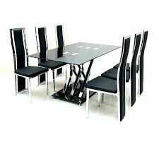 glass top dining table set 6 chairs dining table sets 6 chairs large size of kitchen redesign top dining