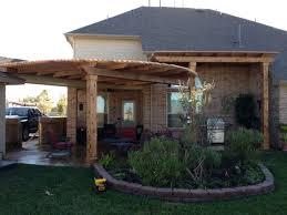Patio Builders Houston Tx Cedar Pergola Near Montgomery Tx Lone Star Patio