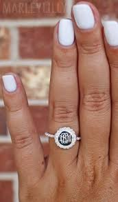 Monogramed Rings 94 Best Jewelry Images On Pinterest Monogram Jewelry Monogram