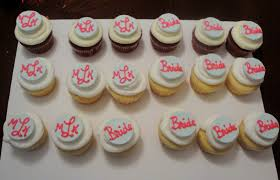 bridal cupcakes confections bridal shower mini cake and cupcakes
