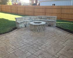 Cost Of Concrete Patio by Interesting Ideas Cost For Concrete Patio Terrific Stamped