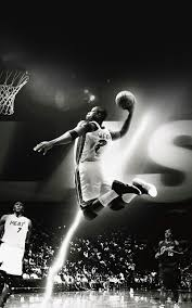dwyane wade dunk nba flash sports black and white android