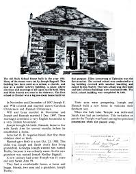 When Was The First House Built Pioneer Of The Month Mt Pleasant Utah Joseph And Sarah Ann