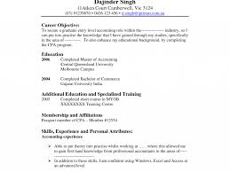 cool ideas accounting resume objective 5 resume example