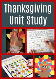 thanksgiving activities unit for elementary age jpg