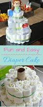 fun and easy diaper cake great for baby showers my latina table