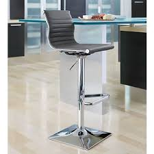 Adjustable Height Bar Stool Master Gray And Chrome Swivel Adjustable Height Barstool 8f709