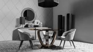 sala da pranzo moderna iostobenequi helix tavolo rotondo per una sala da pranzo