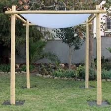 wedding chuppah rent bamboo wedding chuppah just 4 party rentals santa barbara
