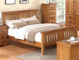 Buy Bed Frames Oak Bed Frame Annaghmore Harvest Rustic Darker Buy At