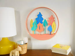 Nursery Decor Blog by Diy Nursery Decor Modern Diorama Wall Hanging Etsy Journal