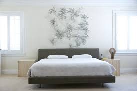 bed headboards diy bedroom contemporary with wall decor white