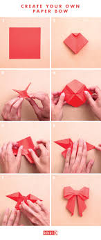 bows for gift boxes origami get creative with this diy paper bow paper bows diy