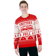 Shitters Full Meme - shitter s full sweater national loon vacation shitter s full