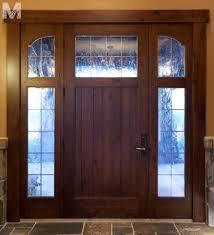 Exterior Doors Salt Lake City Trim Detail Park City Utah Residence Traditional Front Doors