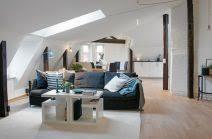 farbe wohnzimmer ideen wohnung farbe wohnzimmer schräge einrichten ideen sofa blaue