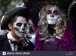 halloween in mexico city mexico city mexico 31st oct 2015 people take part in the