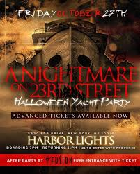 halloween party cruise a nightmare on 23rd street tickets